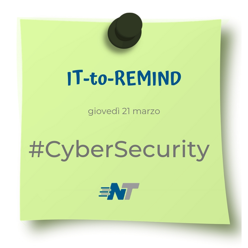 Post-it rubrica IT-to-Remind 21 marzo 2019 CyberSecurity